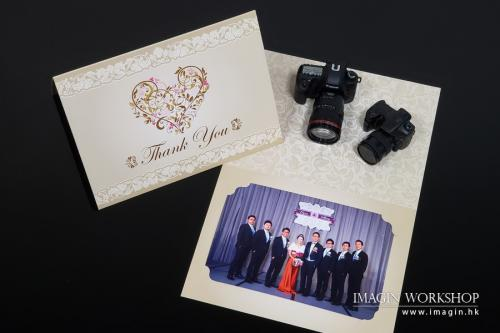 Thank You Card - 即場派相 Instant Photo Printing